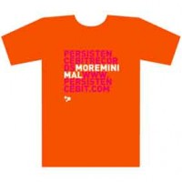 Persistencebit-More minimal t-shirt